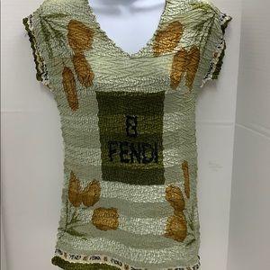 Paris Fendi vintage Top size L no tags